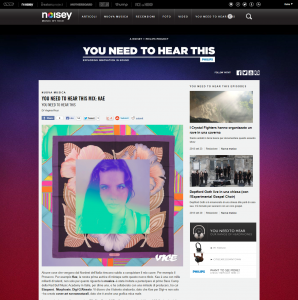 noisey  : YOU NEED TO HEAR THIS Mix by Kae