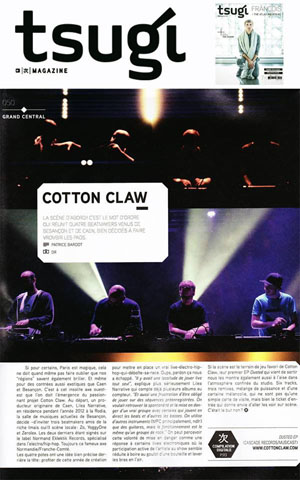 Cotton Claw at Tsugi Magazine house electronic bass music