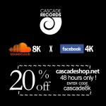 20% off for 48h – Cascadeshop.net