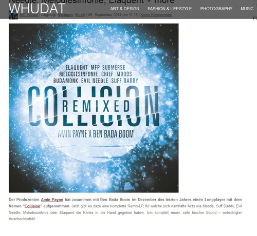 Collision remixed @ Whudat